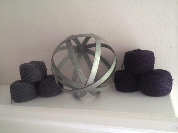 Kerouac yarn knitting frog me knot