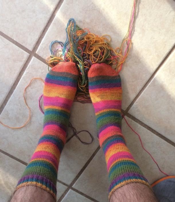 trekking 550 mess knitting frog me knot