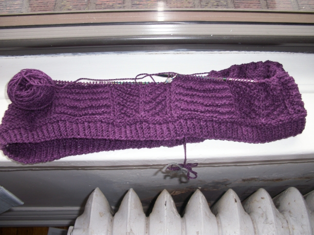 alewives cowl knitting frog me knot