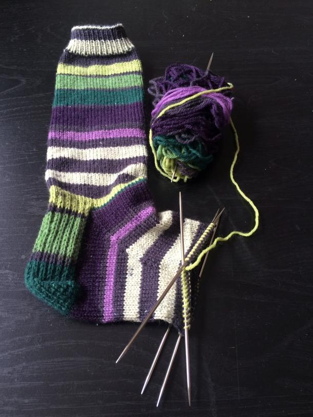 vanilla socks patrons bramble stripes knitting frog me knot update